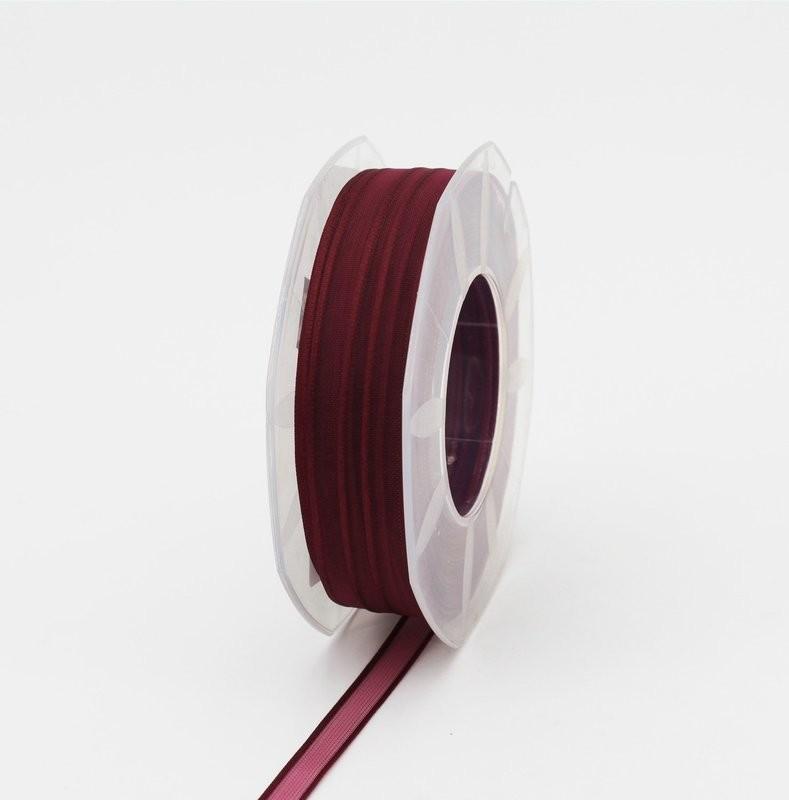Furlanis nastro organza prugna colore 38 mm.10 Mt. 50