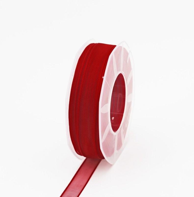 Furlanis nastro organza rosso colore 31 mm.15 Mt. 50