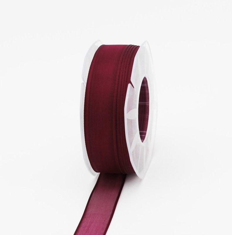 Furlanis nastro organza prugna colore 38 mm.25 Mt.50