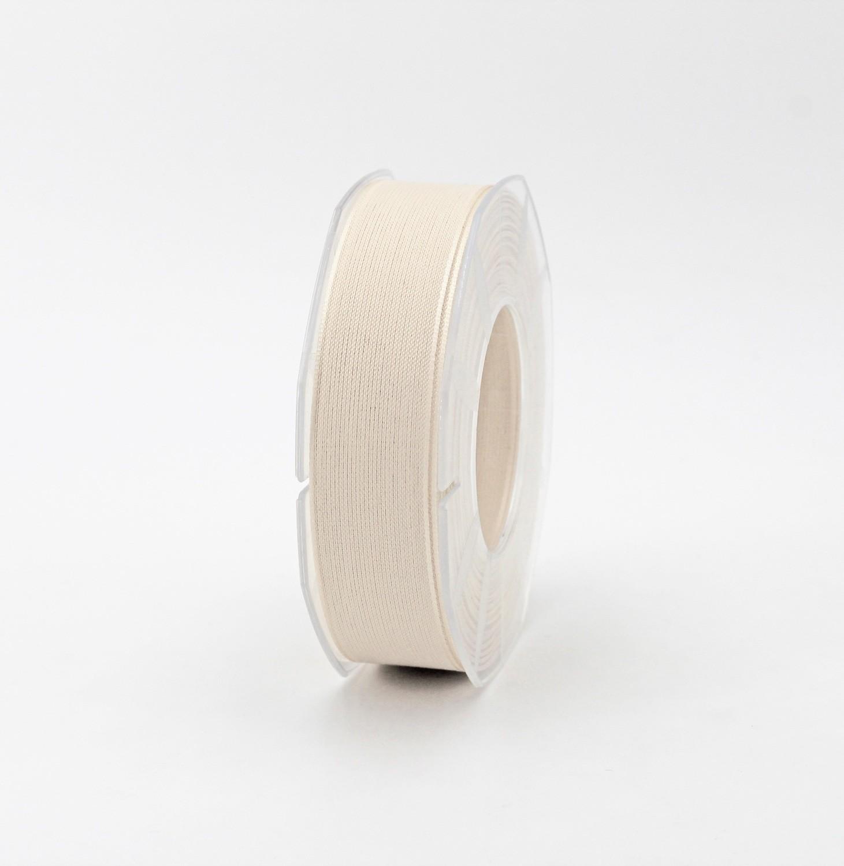 Furlanis nastro velo cotone resinato avorio colore 35 mm. 25 Mt. 25