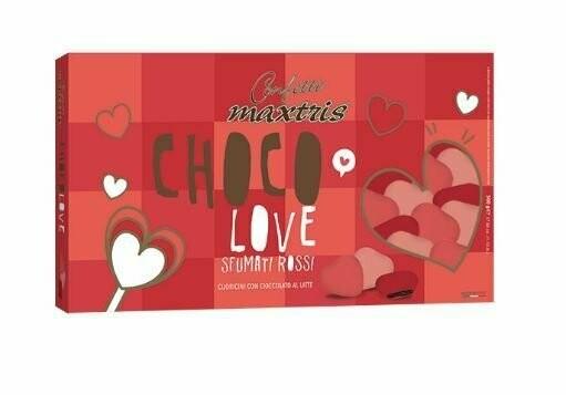 Maxtris Choco love sfumati rossi