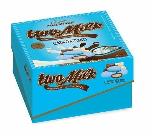 Maxtris Two milk cadeau classico azzurro