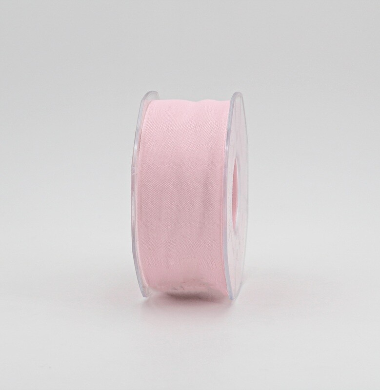 Furlanis nastro garza tipo cotone rosa colore 20 mm.40 Mt. 25