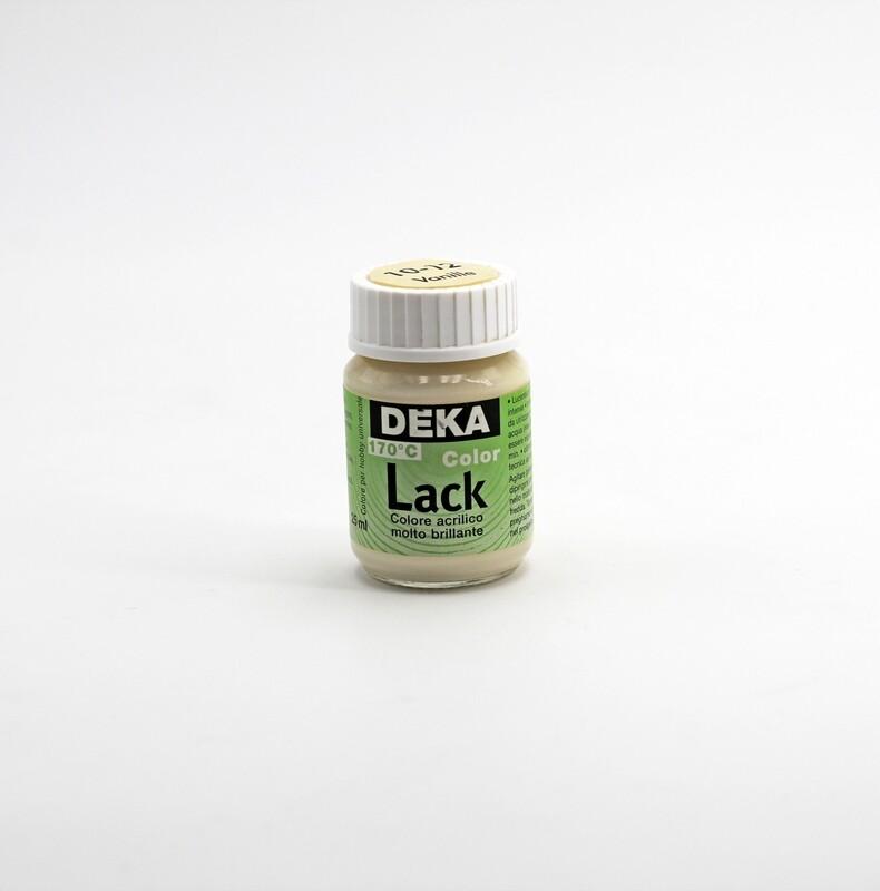 Colore acrilico brillante vaniglia coprente a base d'acqua 25 ml. Pz.1