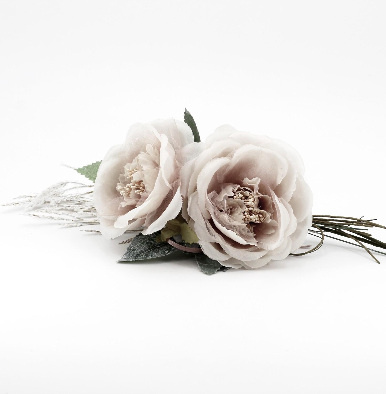 Applicazione pick 2 rose cipria Pz. 5