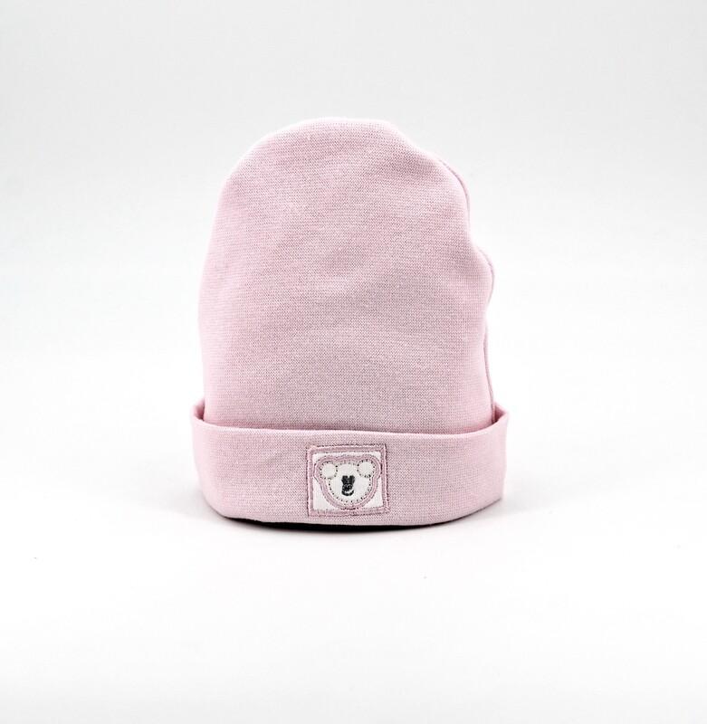 Cappellino in puro cotone rosa Pz. 1