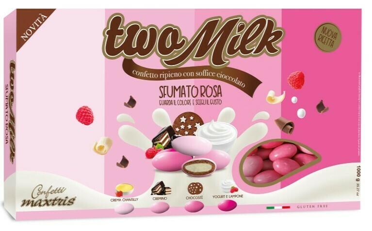 Maxtris Two Milk Sfumato Rosa Pz. 1