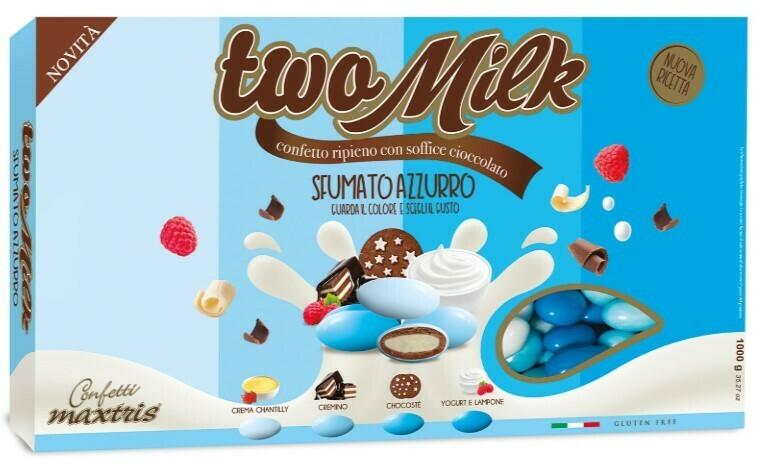 Maxtris Two Milk Sfumato Azzurro Pz. 1