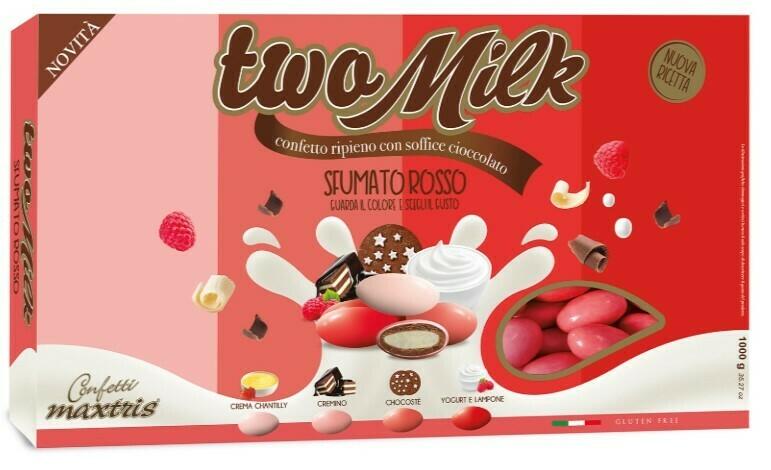 Maxtris Two Milk Sfumato rosso Pz. 1