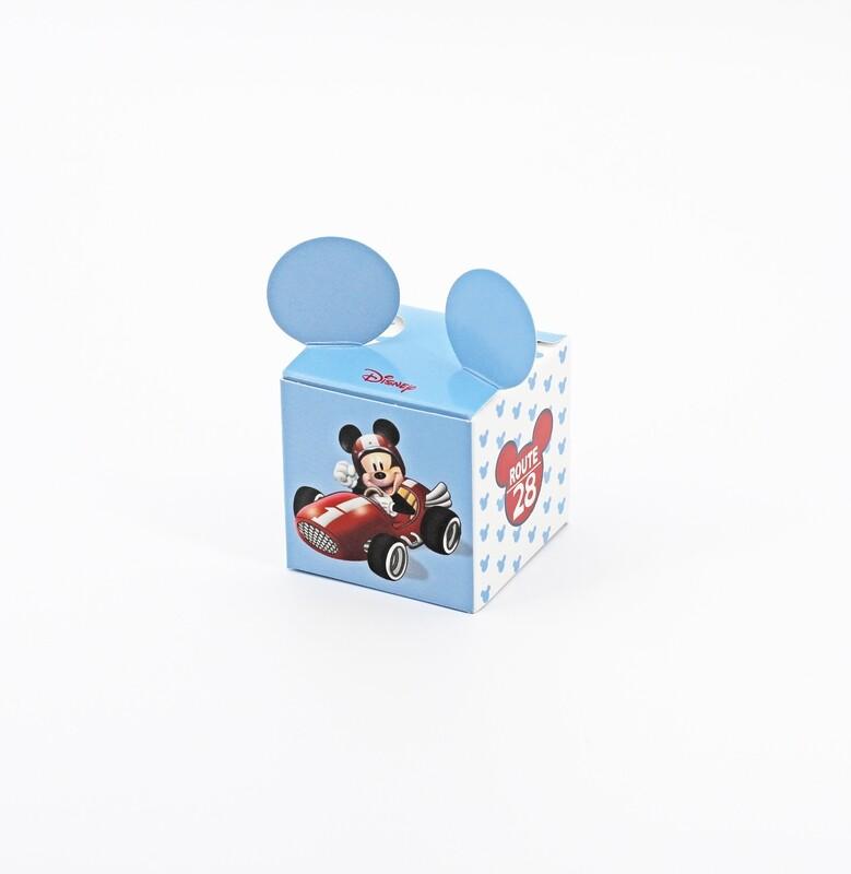 Cubo mickey azzurro Pz.10