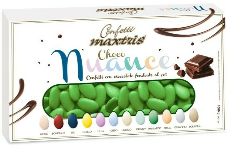 Maxtris choco nuance smeraldo Pz. 1