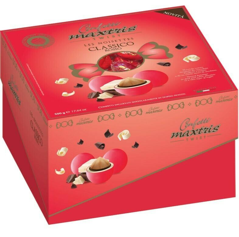 Cadeaux Twist Les Noisettes Maxtris Classico Rosso gr. 500
