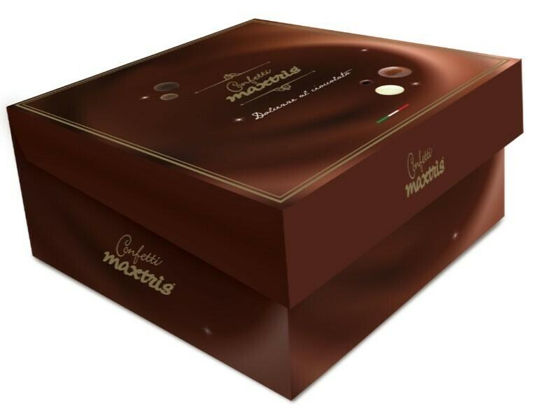 Maxtris praline di nocciole al cioccolato assortiti Pz. 1