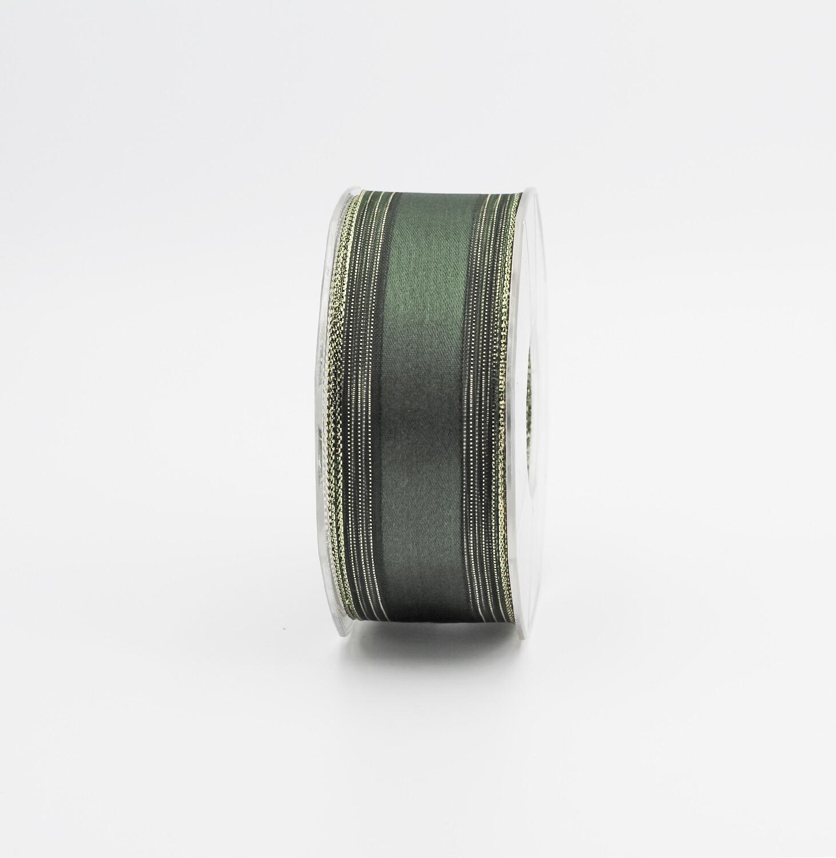 Furlanis nastro baccarat colore 633 bordi rame mm.40 Mt.25
