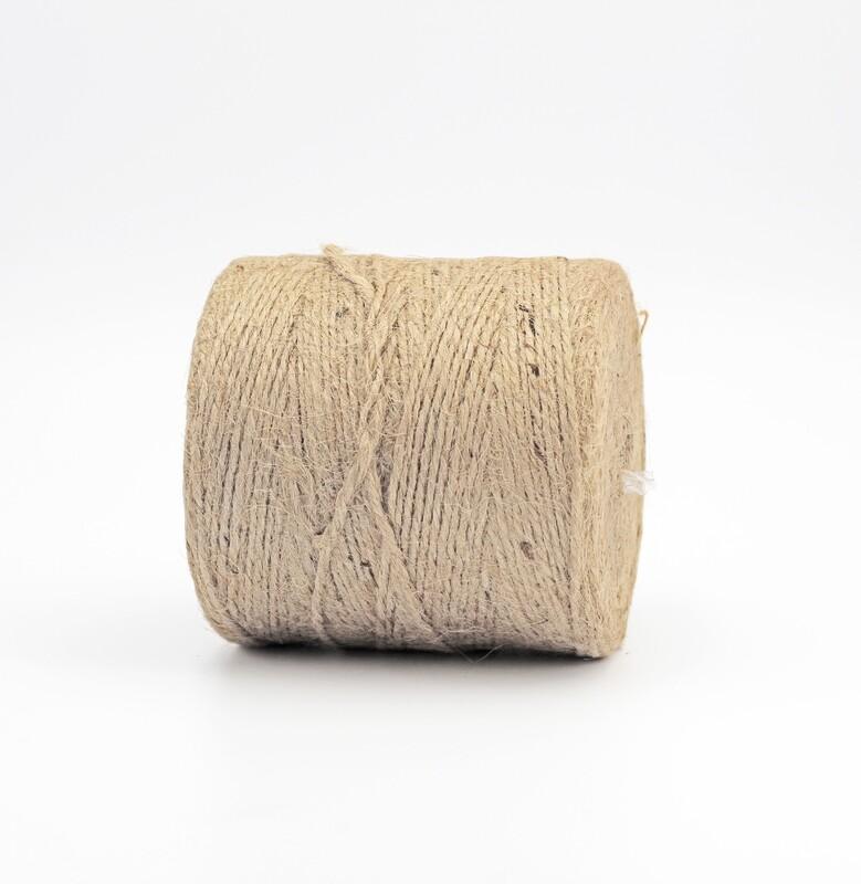 Nastro cordoncino di juta colore 2 mm.2 peso 500 gr.