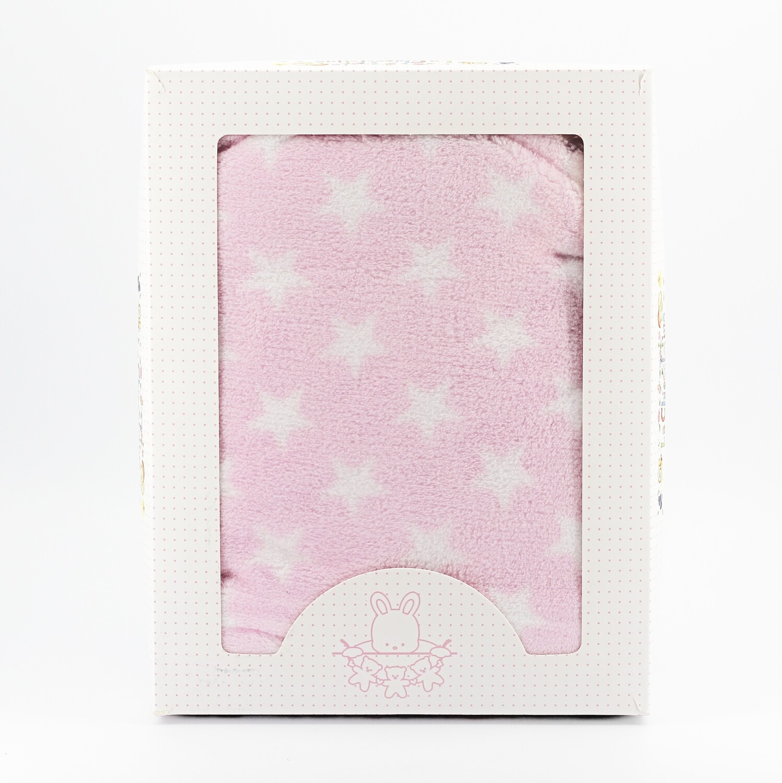 Copertina per culla rosa fantasia stella Pz.1