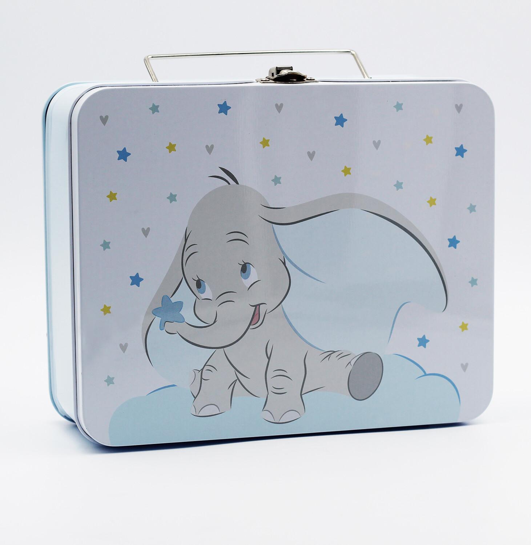 Set 8 valigette Dumbo azzurro Pz.1