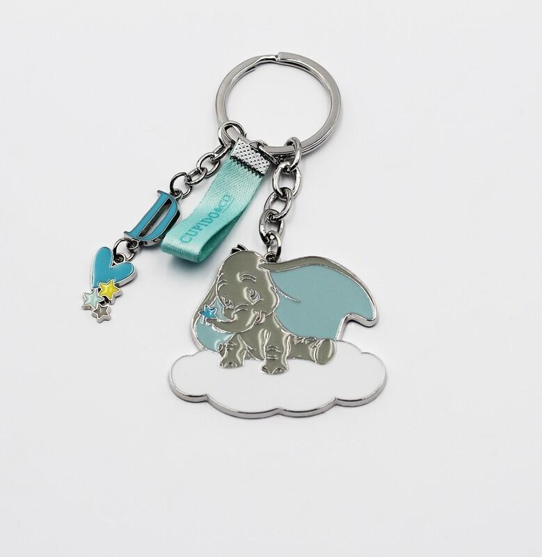 Portachiavi Dumbo azzurro Pz.1