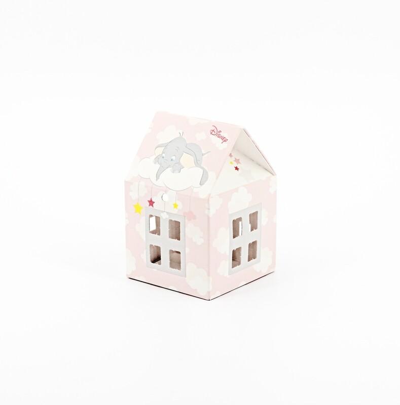 Scatola casetta dumbo rosa  Pz.10