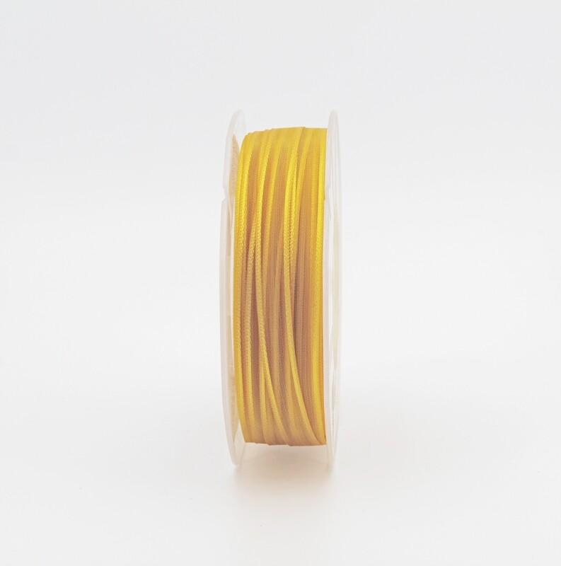 Furlanis nastro organza giallo colore 1006 mm.10 Mt. 50