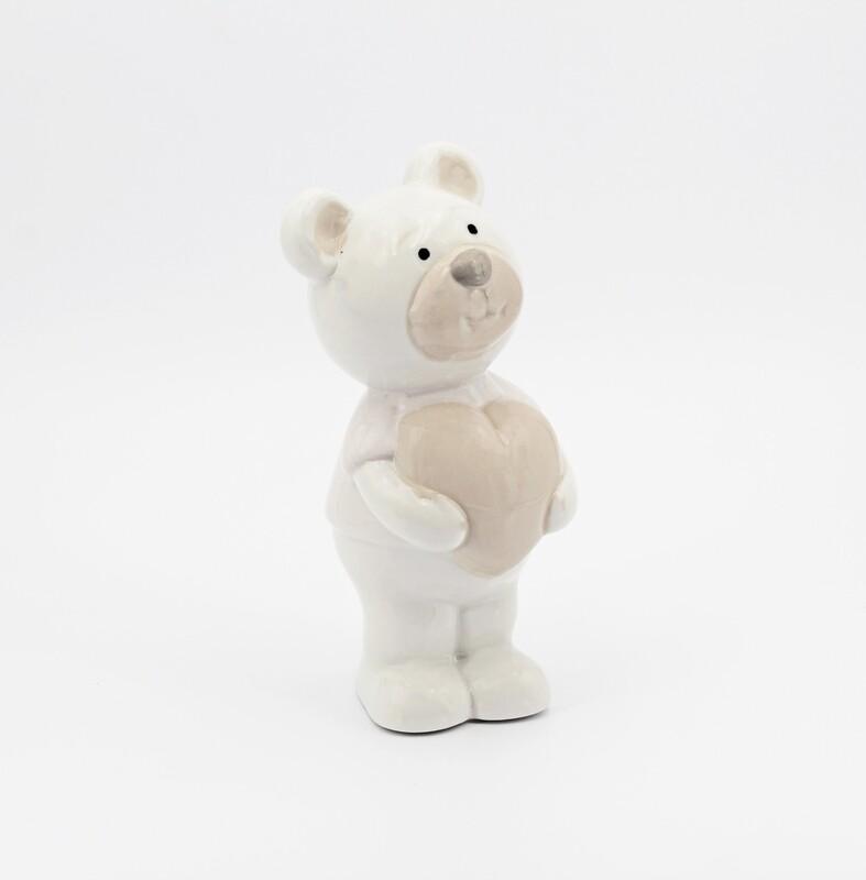 Bear heart girl rosa Pz.1