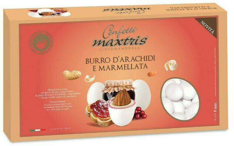 Maxtris burro di arachidi e marmellata Pz. 1