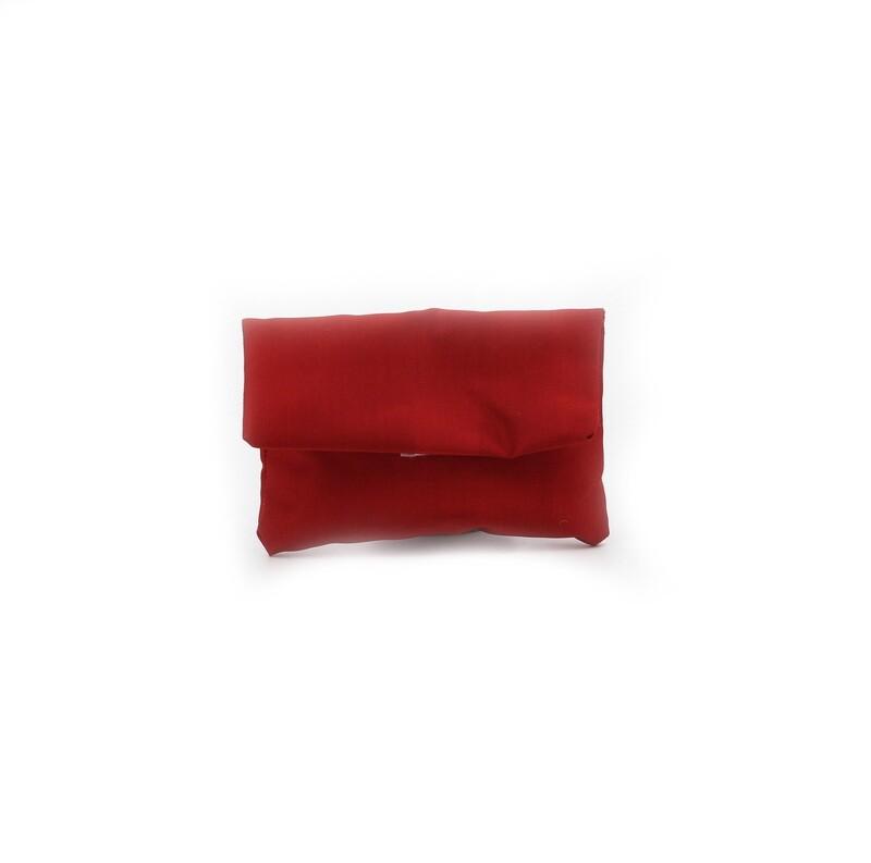 Busta rossa taffetà piccola Pz. 25