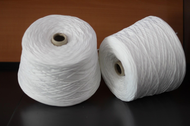 Elastico Bianco Tubolare Per Mascherine