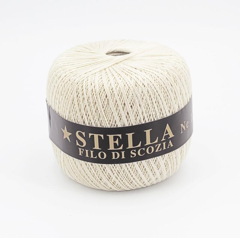 Silke by Arvier Filo di scozia stella colore 02 misura 12/3 grammi 100 Pz. 10