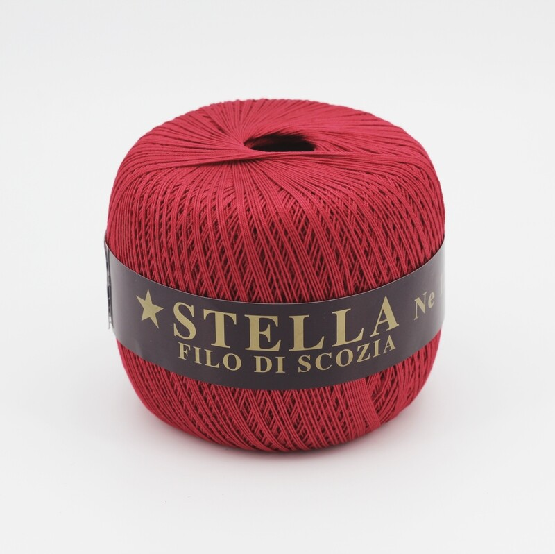 Silke by Arvier Filo di scozia stella colore 620 misura 12/3 grammi 100 Pz. 10