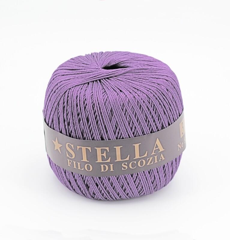 Silke by Arvier Filo di scozia stella colore 50 misura 12/3 grammi 100 Pz. 10