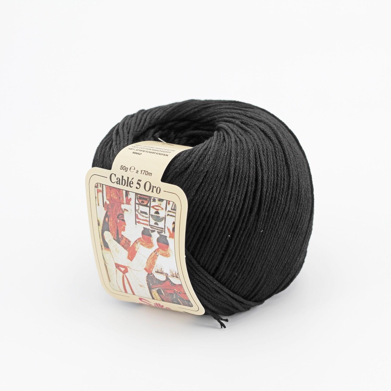 Cablè 5 colore 7 nero grammi 50 Pz. 10