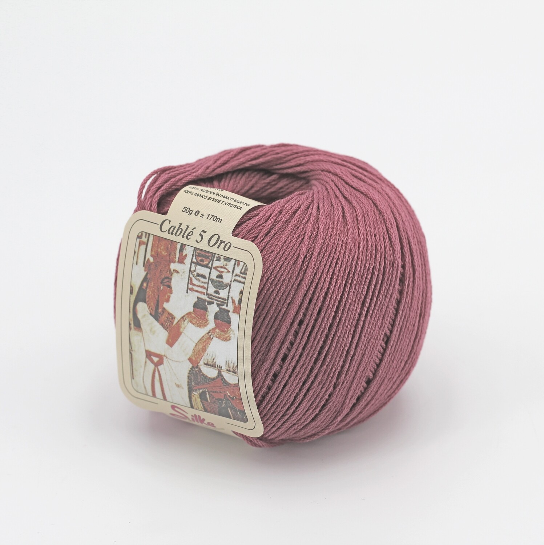 Cablè 5 colore 975 rosa antico grammi 50 Pz. 10