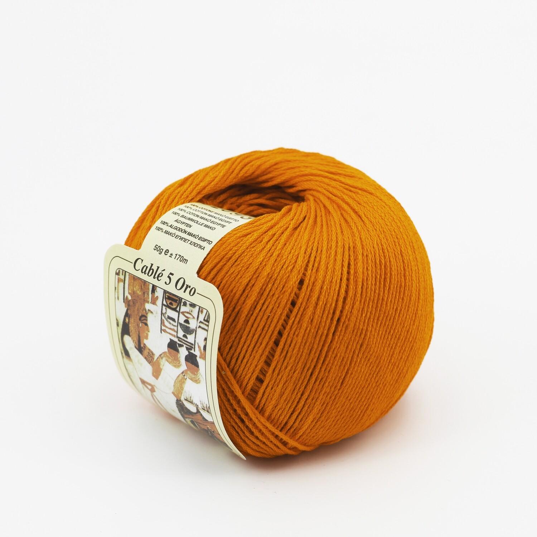 Cablè 5 colore 920 arancio grammi 50 Pz. 10