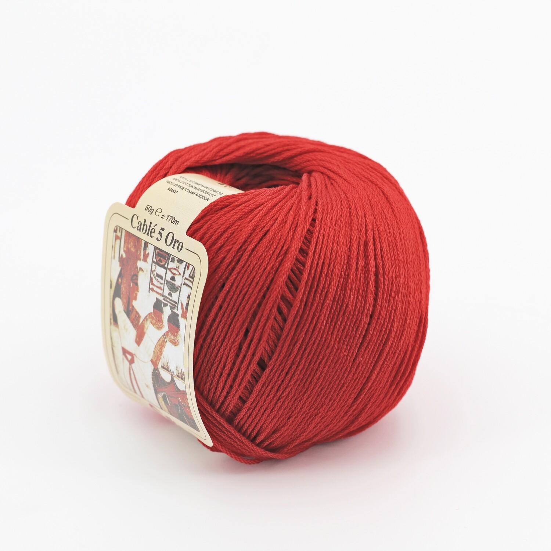 Cablè 5 colore 5 rosso grammi 50 Pz. 10
