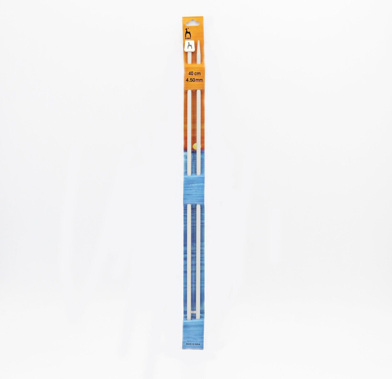 Ferri da maglia pony misura 4.50 mm altezza 40 cm