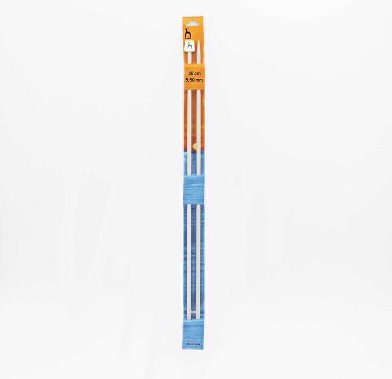 Ferri da maglia pony misura 5.50 mm altezza 40 cm