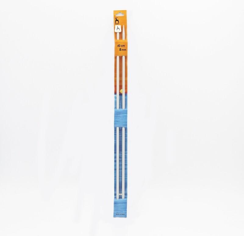 Ferri da maglia pony misura 8 mm altezza 40 cm