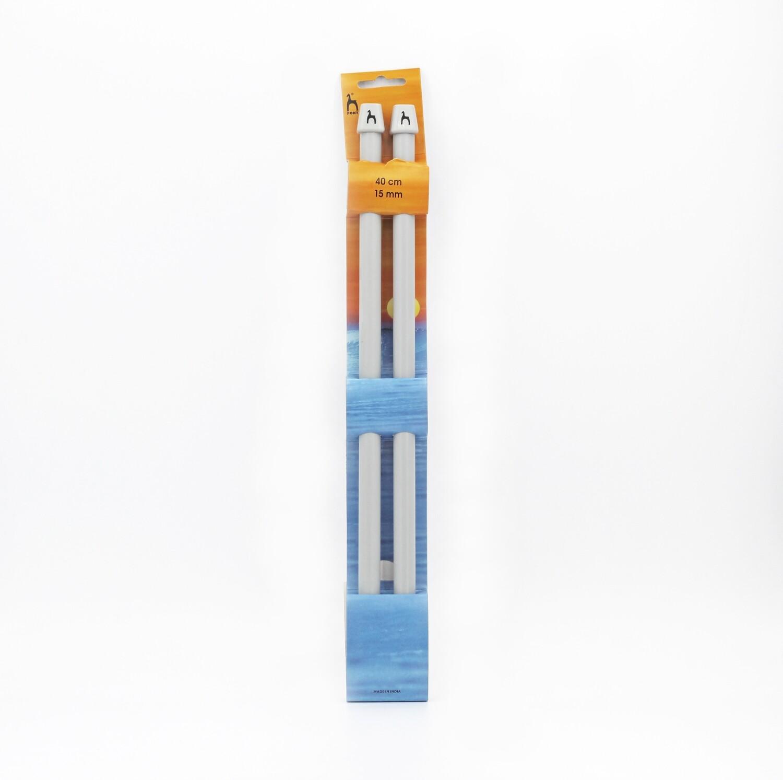 Ferri da maglia pony misura 15 mm altezza 40 cm