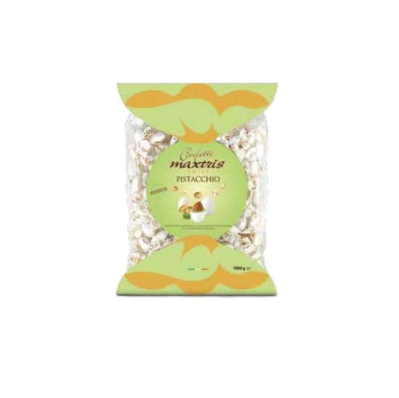 Maxtris ciocomandorla confezione twist pistacchio Pz.1