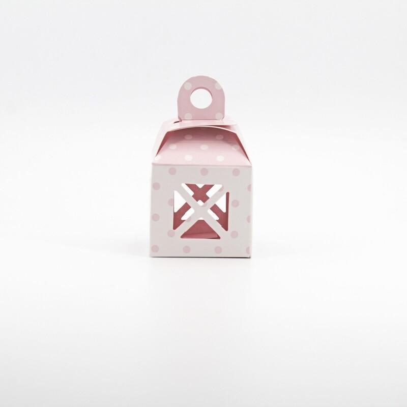 Scatola lanterna rosa Pz. 25