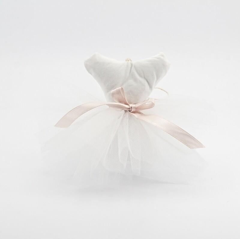 Tutù piccolo bianco lavorazione artigianale Pz. 1