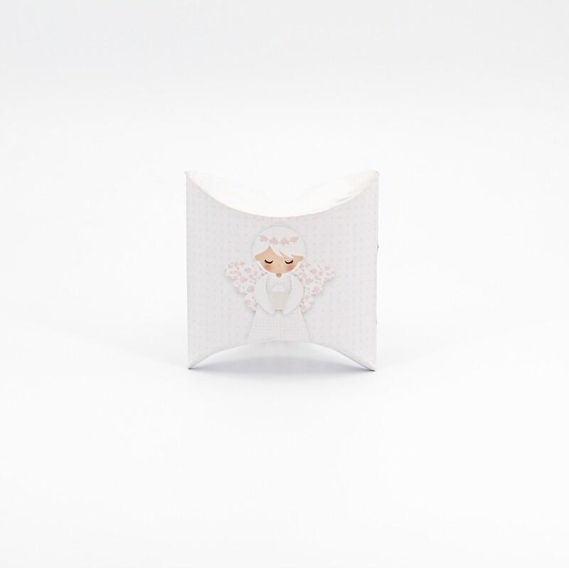 Scatolina comunione rosa Pz. 10
