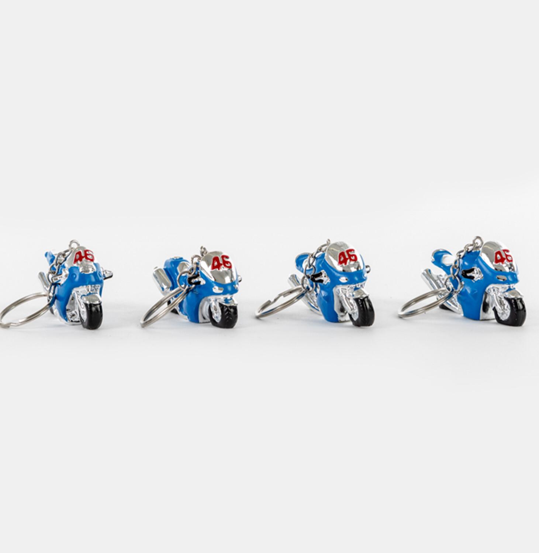 Bomboniera portachiave moto blue  Pz. 12
