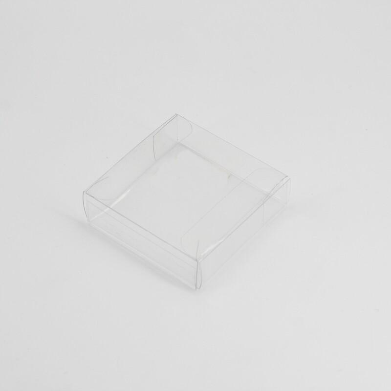 Scatola quadrata trasparente Pz. 10