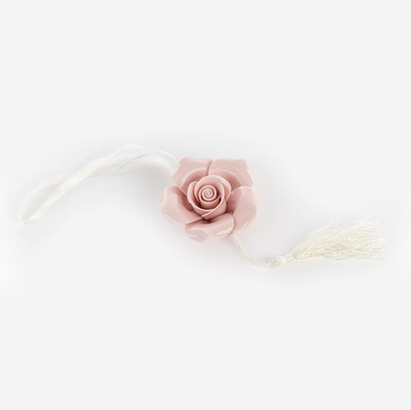 Bomboniera rosa con calamita Pz. 12