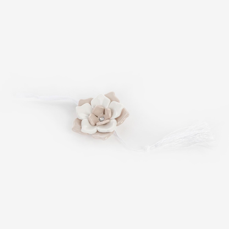 Bomboniera fiore con calamita Pz. 12