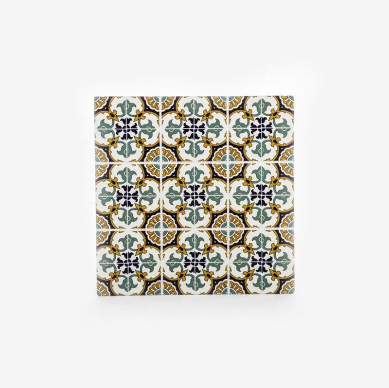 Bomboniera mattonella quadrata decorazione barocco Pz. 1