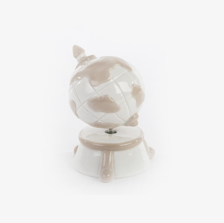 Bomboniera mappamondo carillon Pz. 1