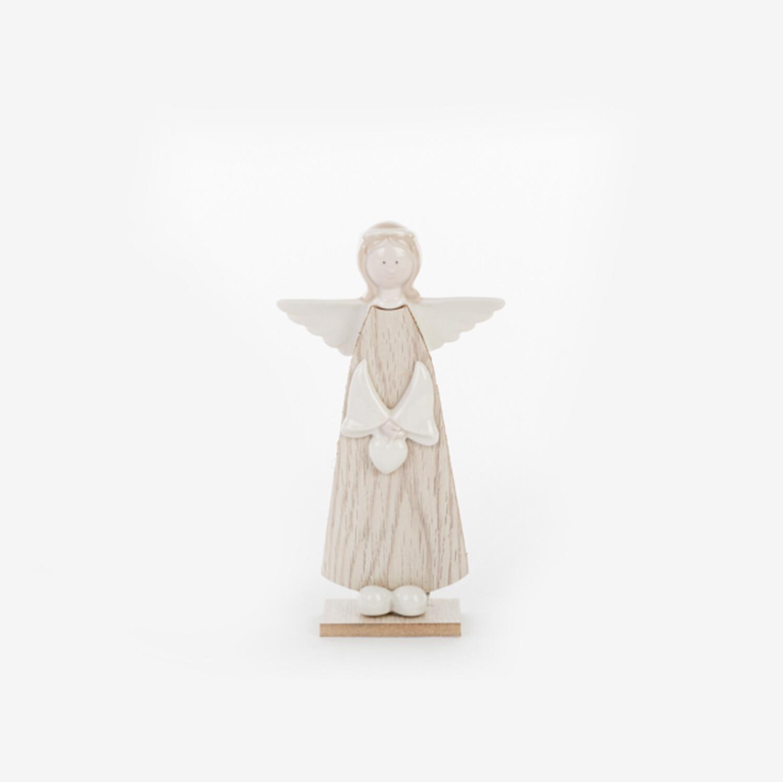 Bomboniera angelo in legno Pz. 2